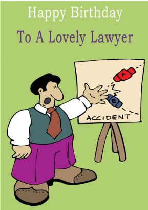 Lawyer - Greeting Card